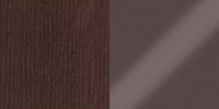 венге/стекло коричневое